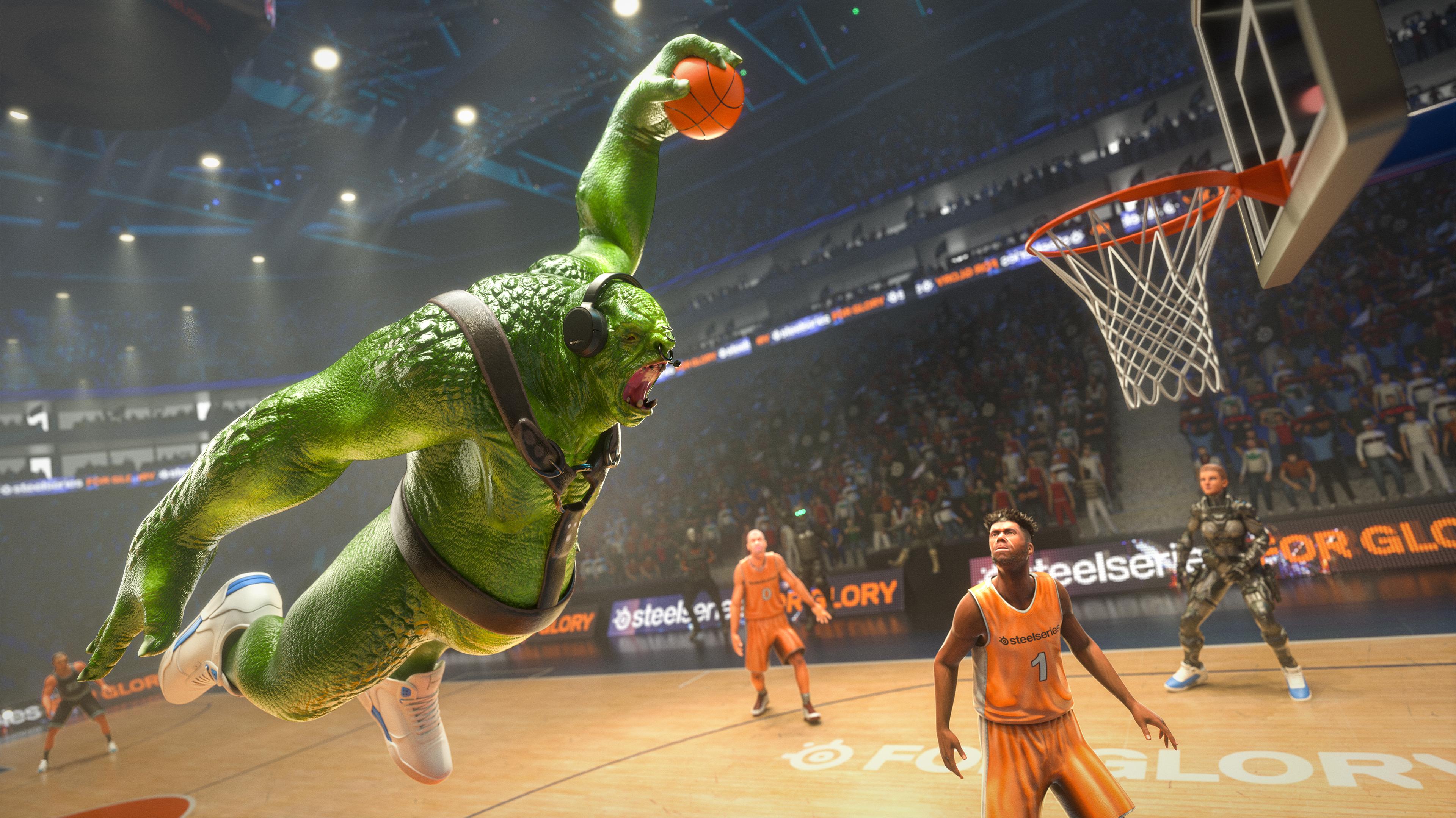 Lars playing NBA