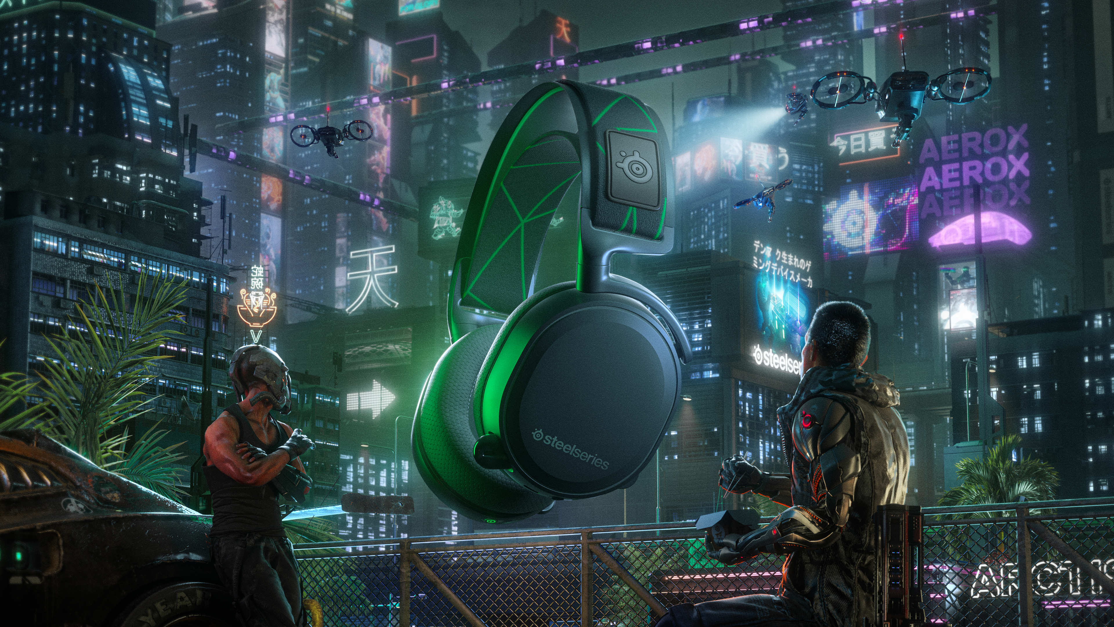 Cyberpunk night