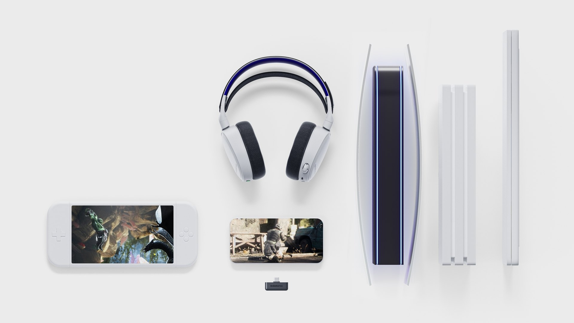 Android、iphone、PS4、PS5 與 PC 都顯示出對耳機的連線性