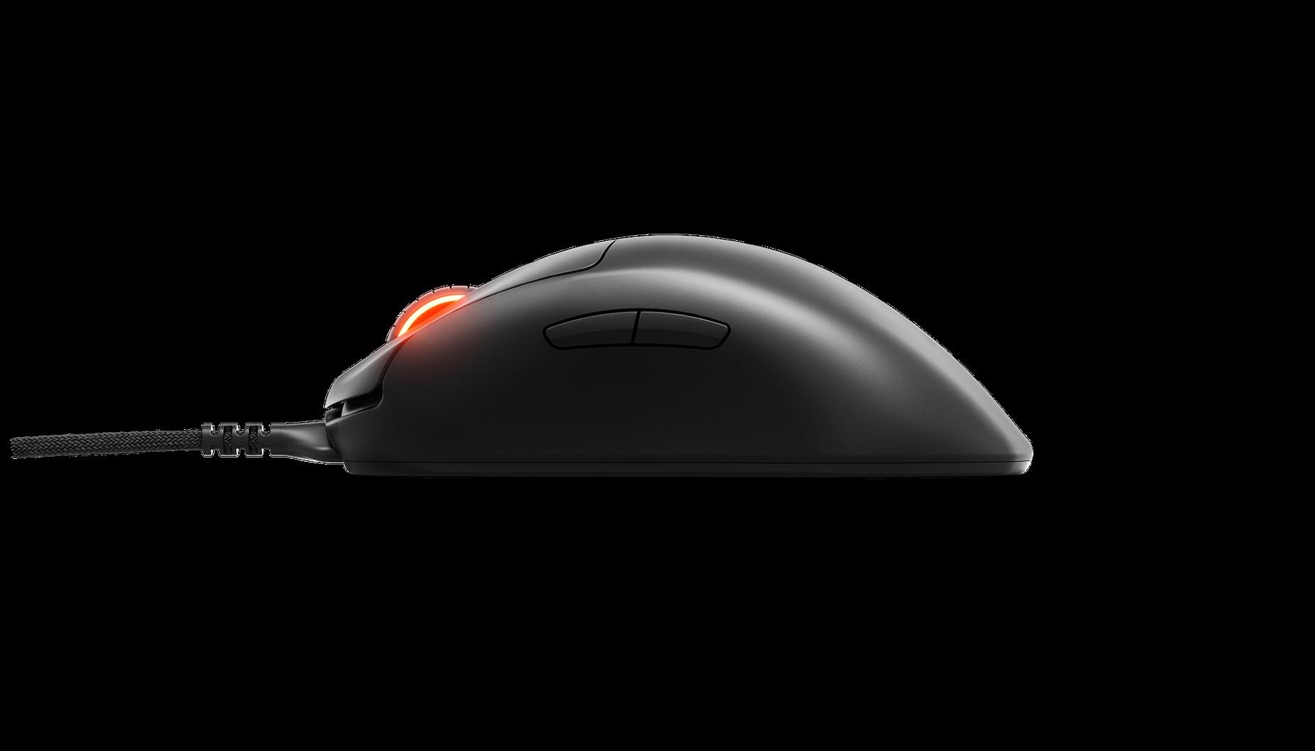 Prime + 滑鼠的側視圖。