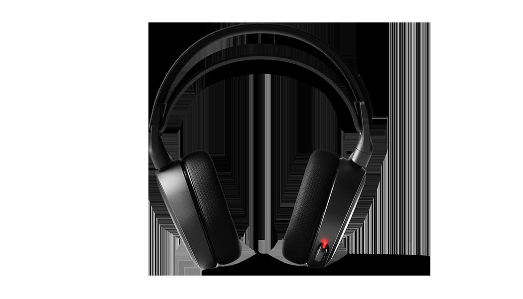 Arctis 7 耳機麥克風 (收起的) 正面檢視圖