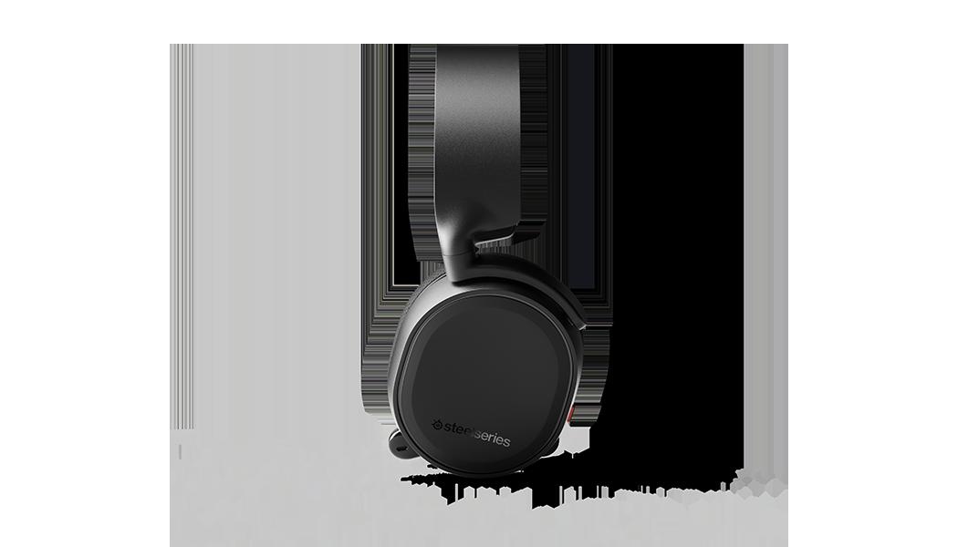 ARCTIS 3 - 黑色遊戲耳機側面輪廓圖