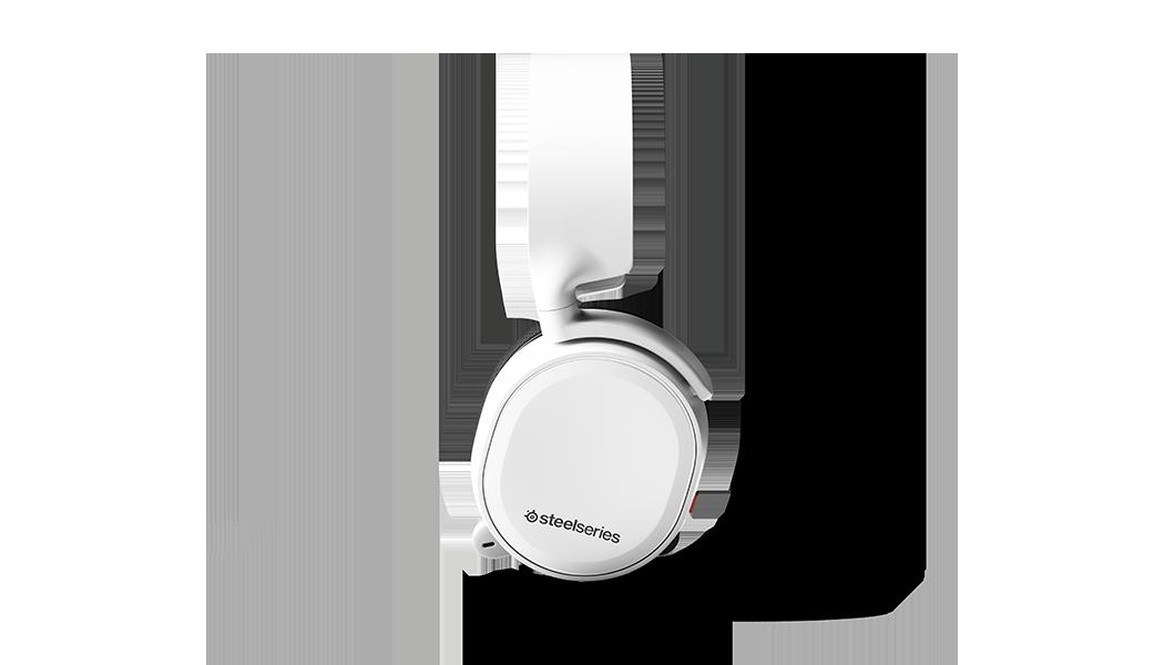耳機的側面輪廓視圖