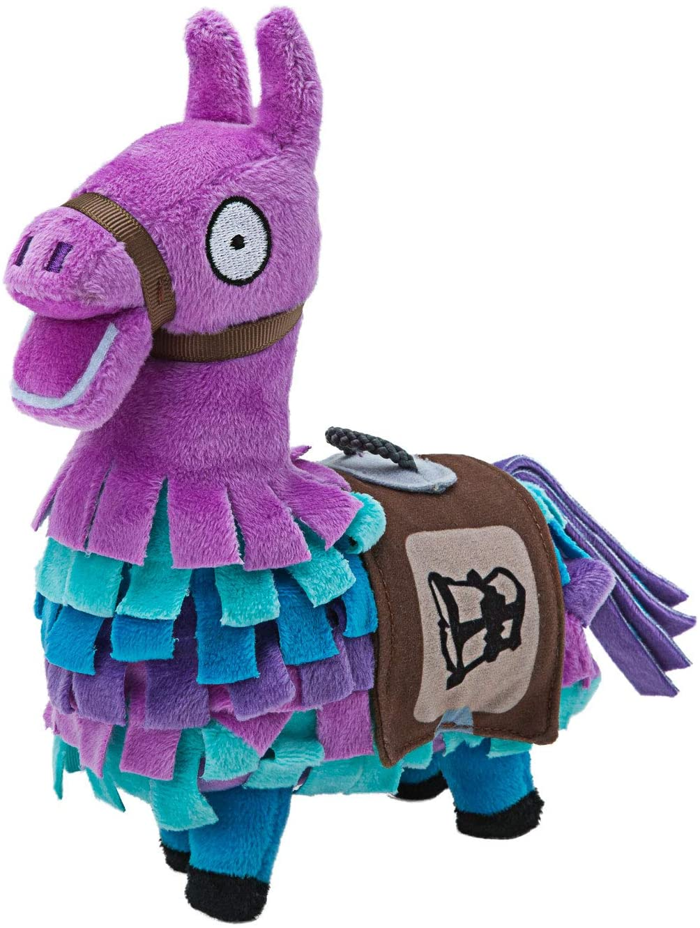 A soft and cuddly version of the Loot Llama that you can hug.