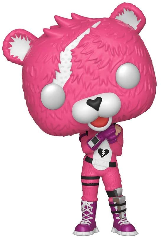 The Cuddle Team Leader Funko Pop! figure, all clad in fuzzy pink.