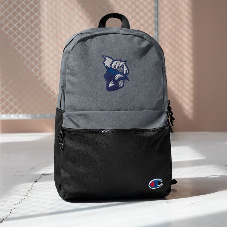 Jett custom Champion backpack