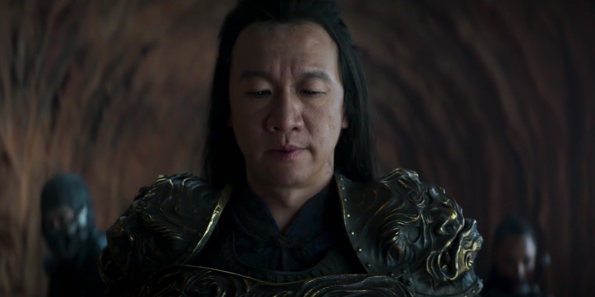 Shang Tsung contemplates how he can be more of a thorn in everyone's side.