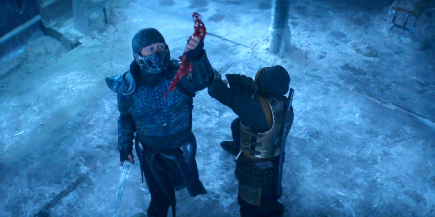 Sub-Zero is just as menacing together in movie form.