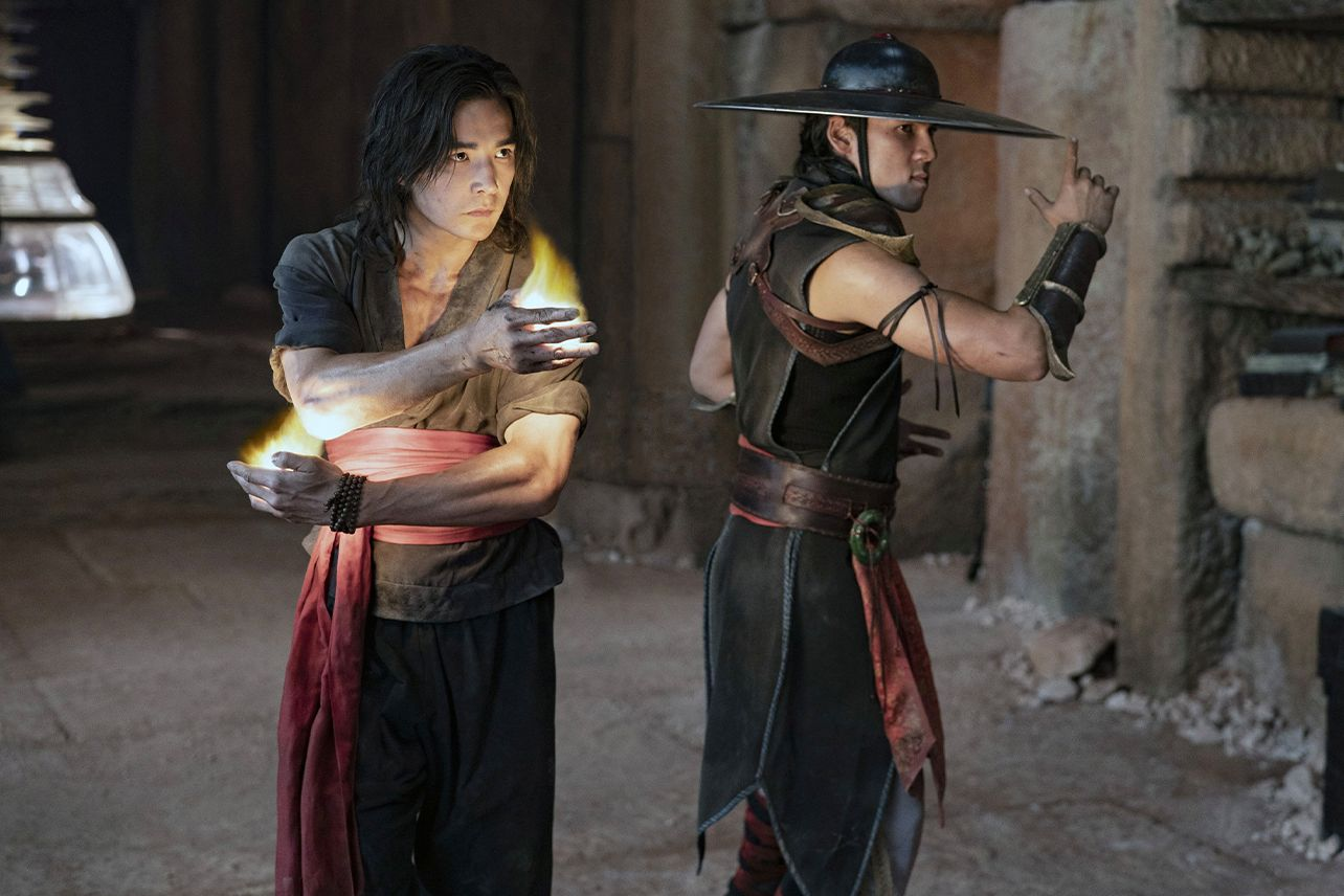 Liu Kang and Kung Lao are ready to rumble.