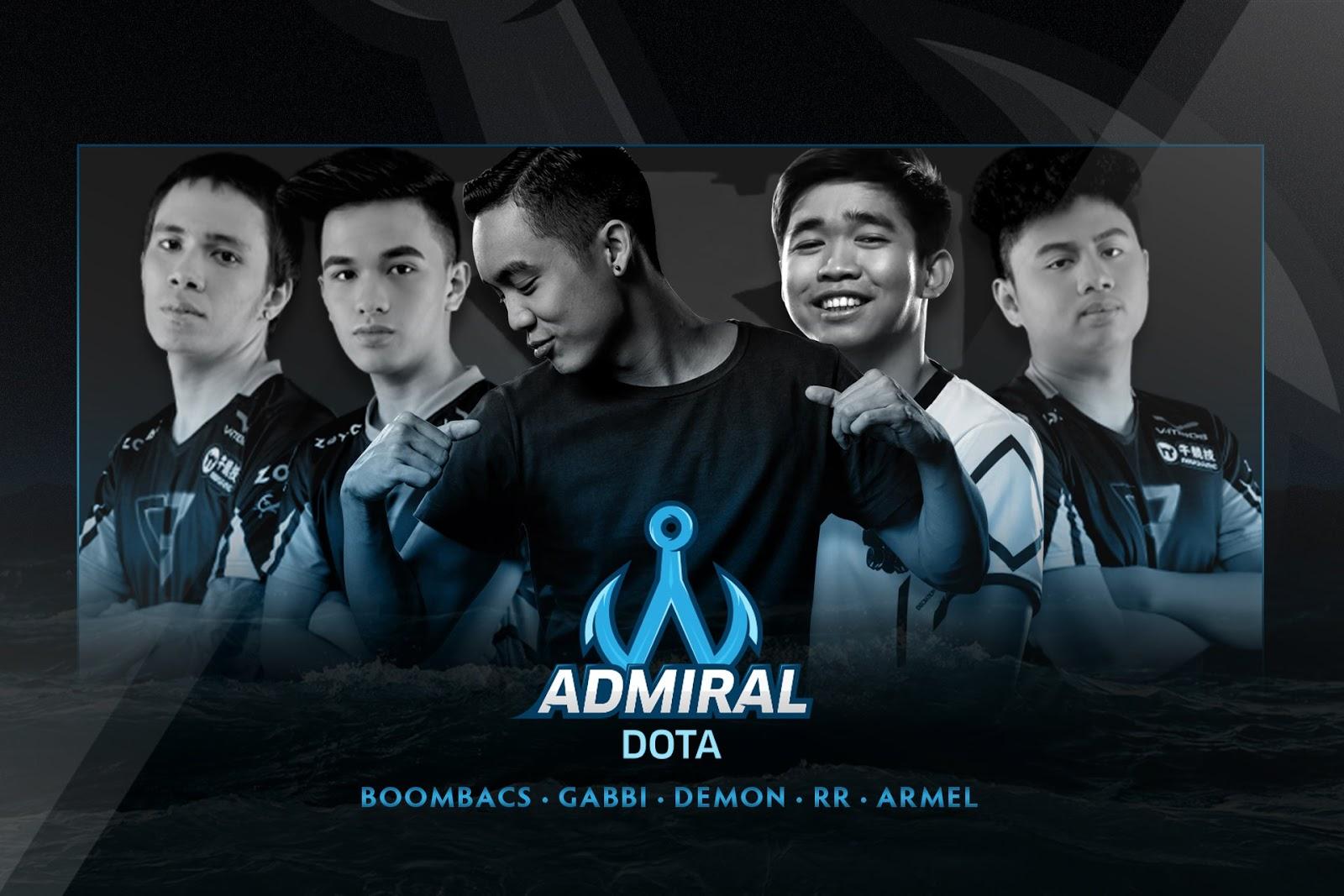 Team Admiral 2018 player lineup