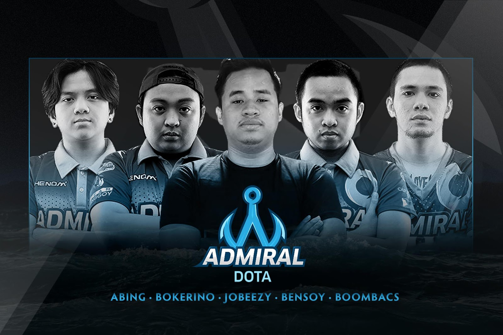 Team Admiral new player lineup with Benhur