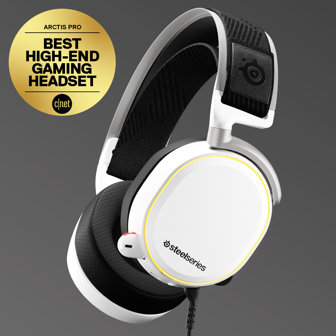 The Arctis Pro headset in all its glory.