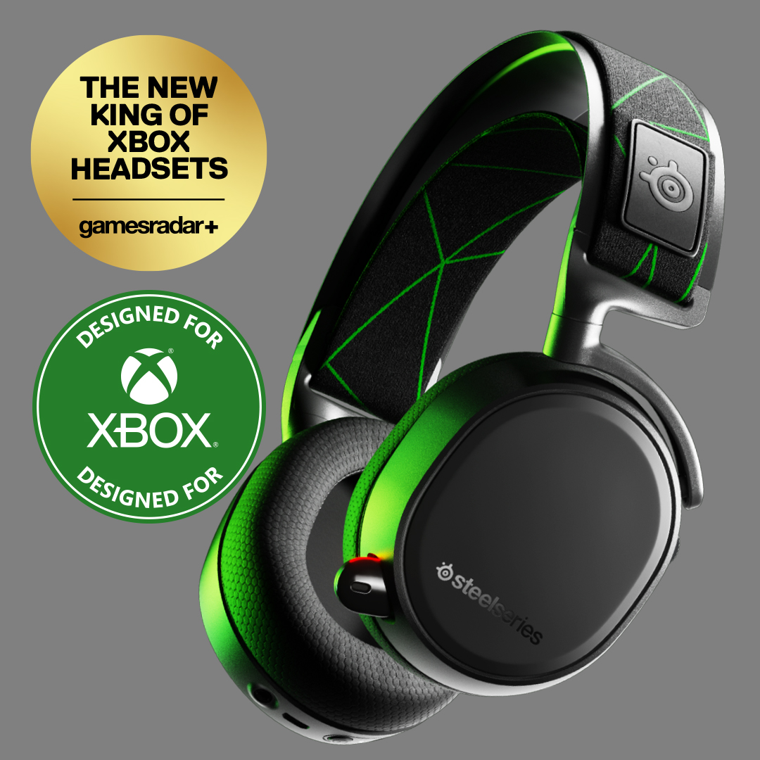 The great-looking and versatile Arctis 9X headset.