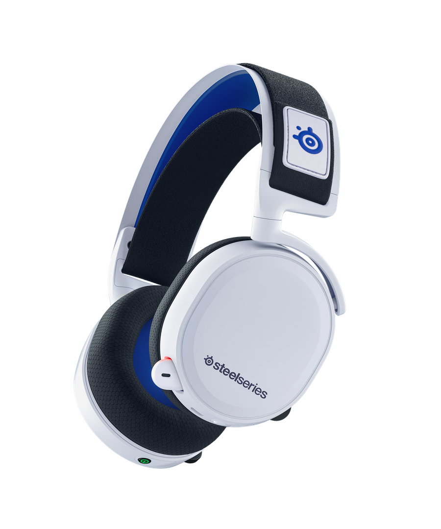 The Arctis 7P in white, which should match the PS5 well.