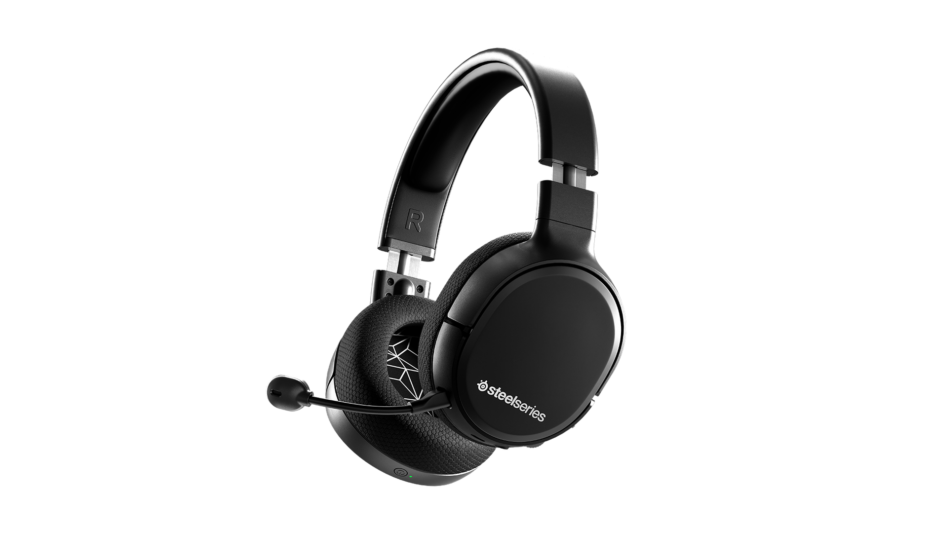 Arctis 1 Wireless headset floating in space