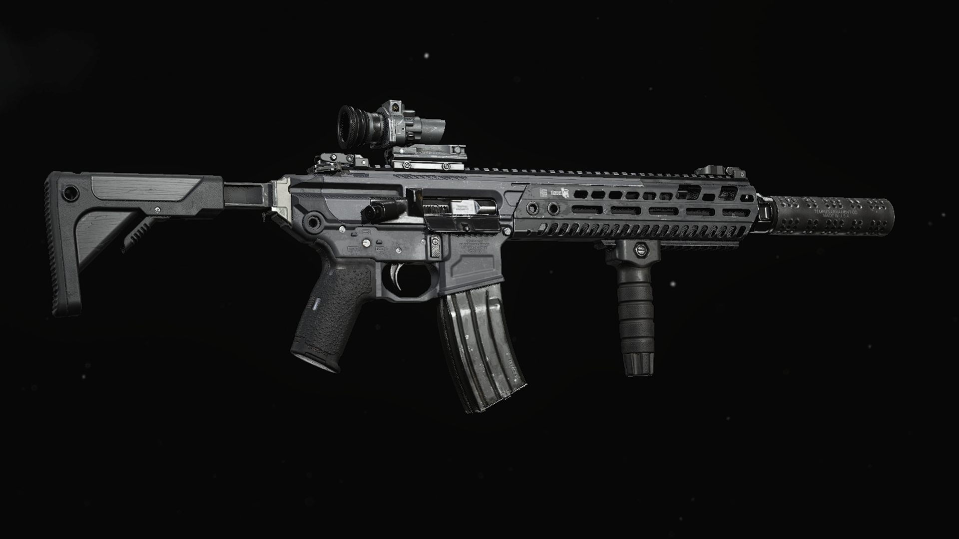 A look at the M13 assault rifle in Call of Duty Warzone.