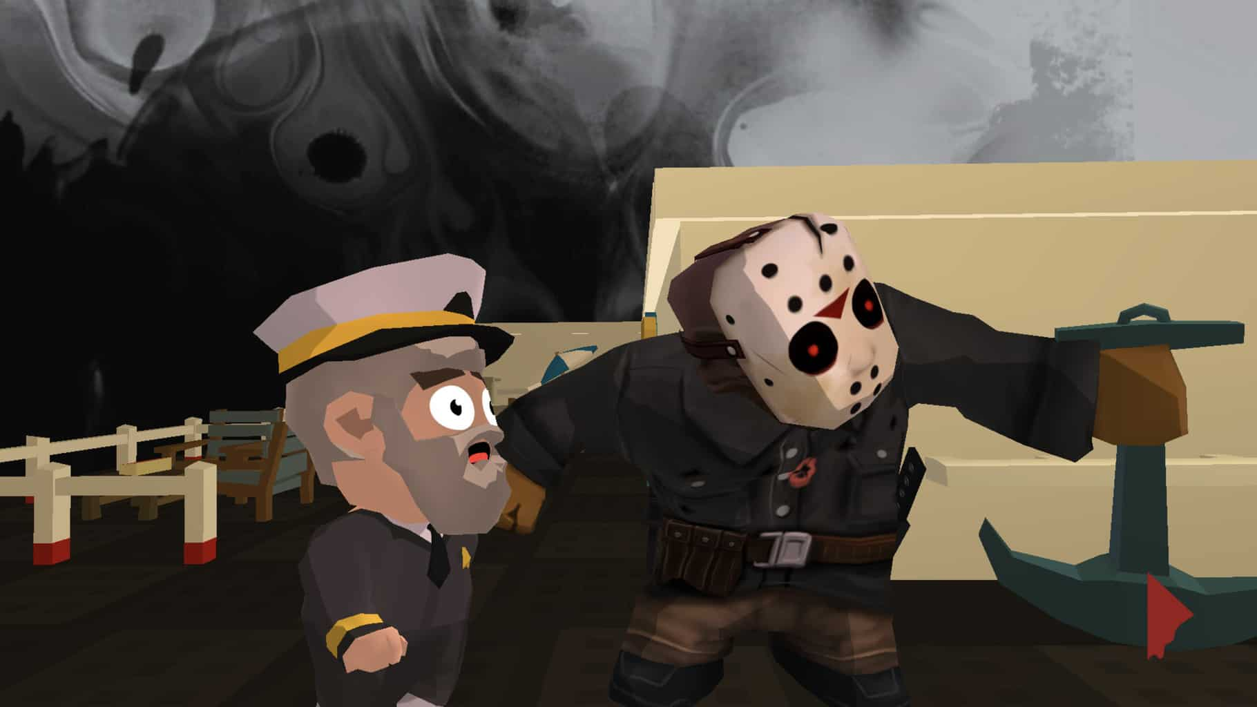 No, Jason isn't giving advice here, he's about to kill that poor guy.