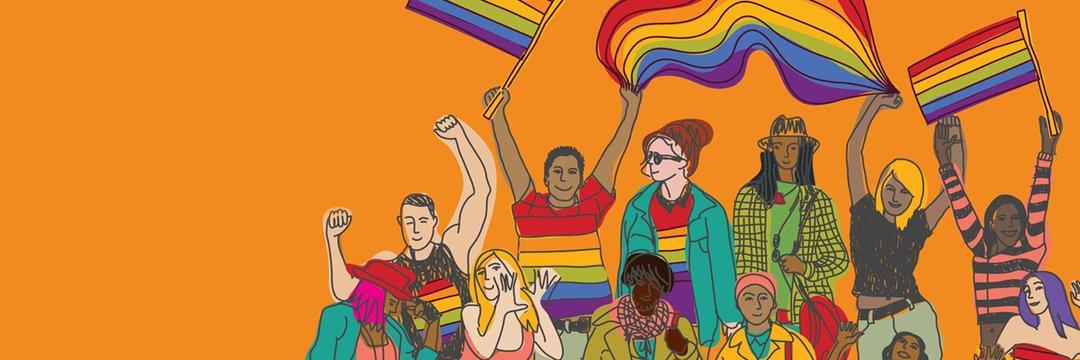 Trevor Project LGBTQ art