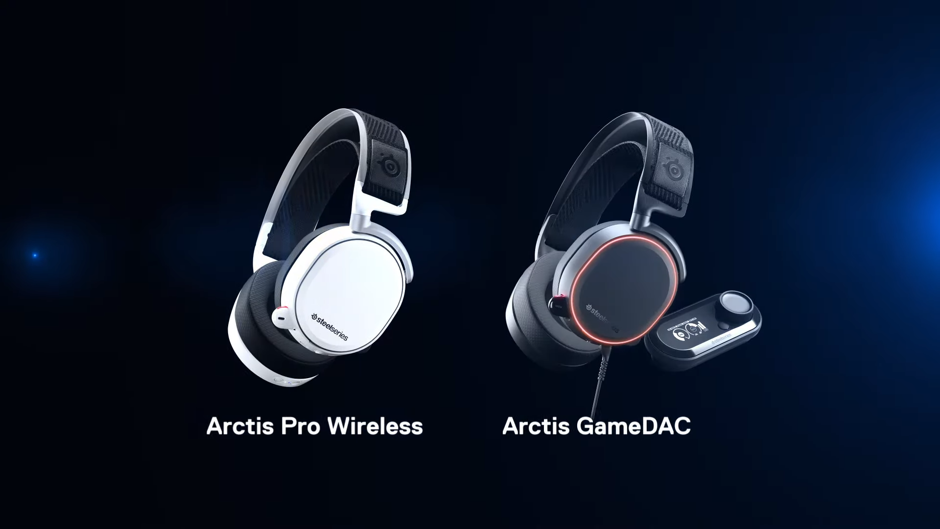 An Arctis Pro or GameDAC headset.
