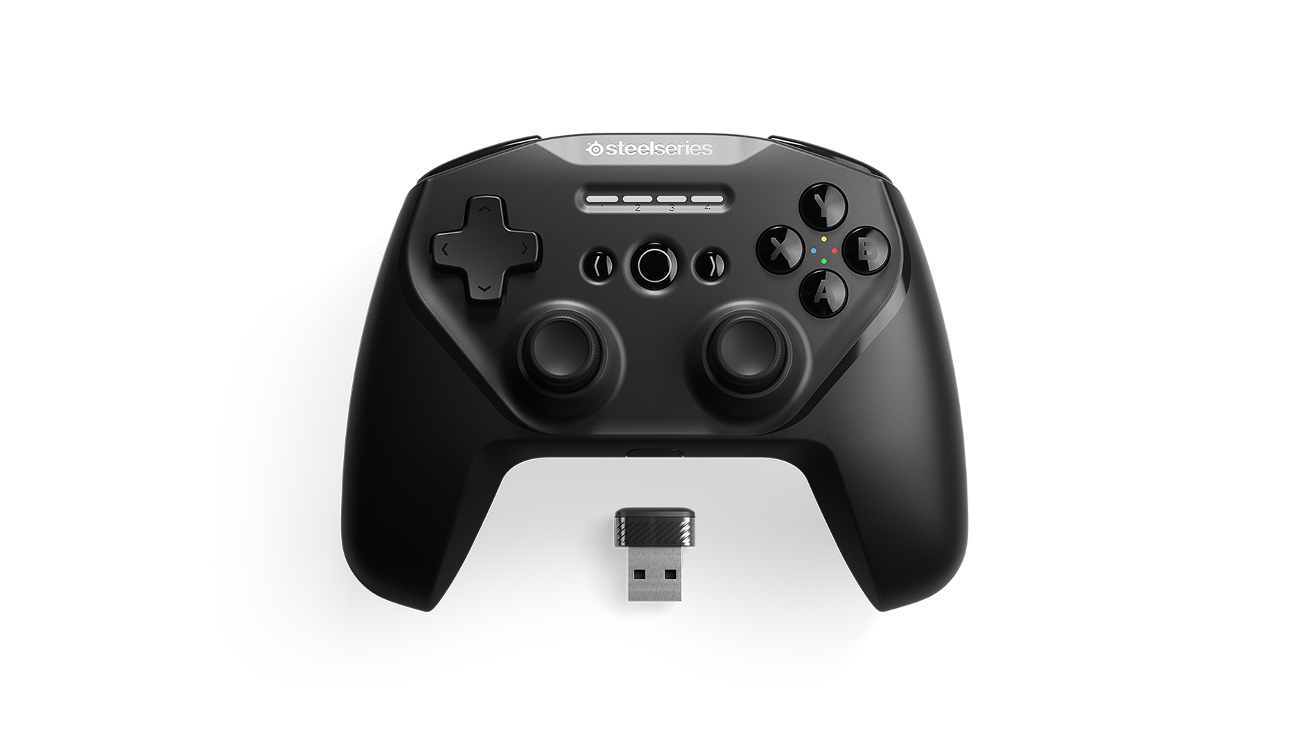 An up-close view of the Stratus Duo, the best controller option from SteelSeries for playing Scarlet Nexus.