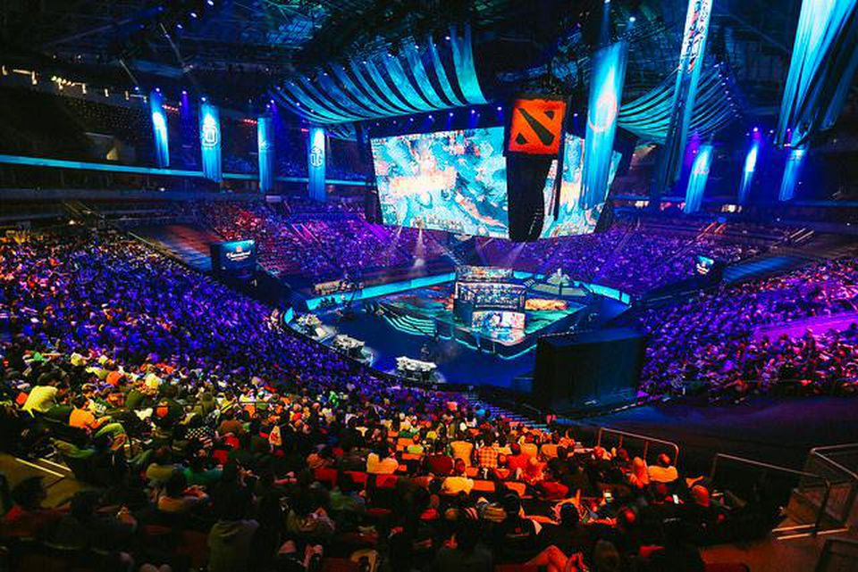 TI8 arena