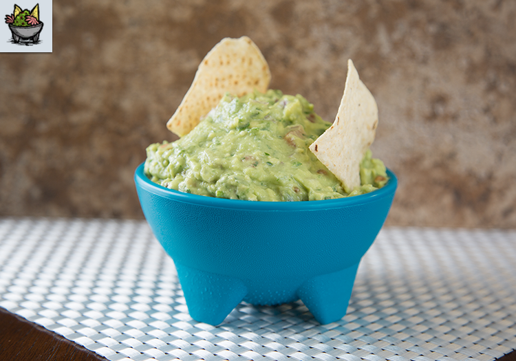 """A bowl of guacamole, as well as in the in-game guacamole from """"Don't Starve"""""""