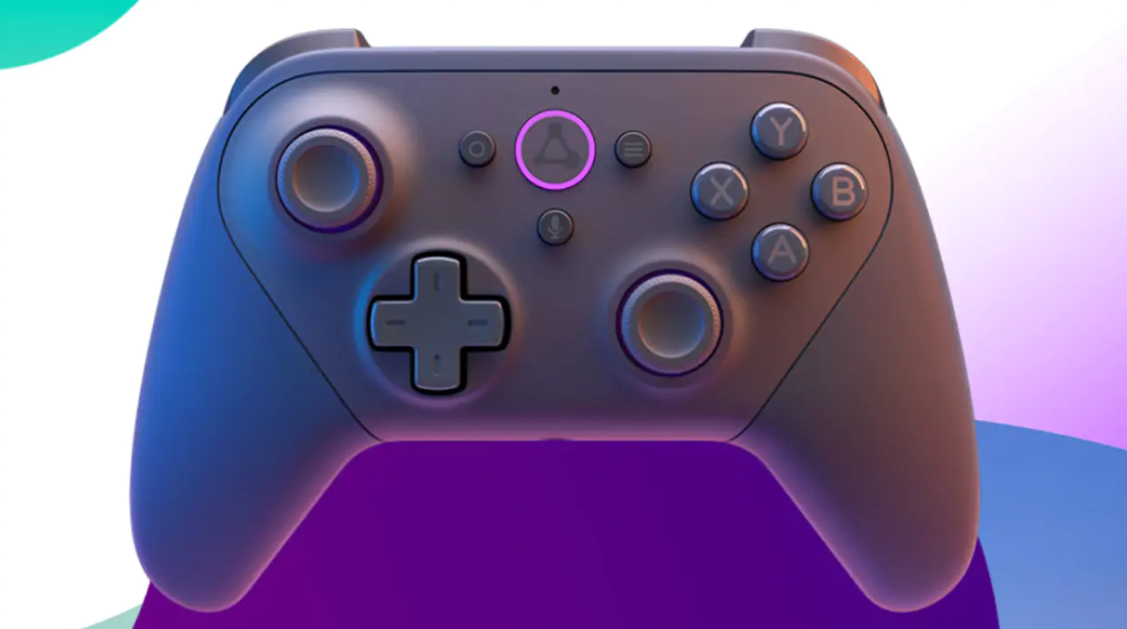 The Luna Controller in all its glory facing front.