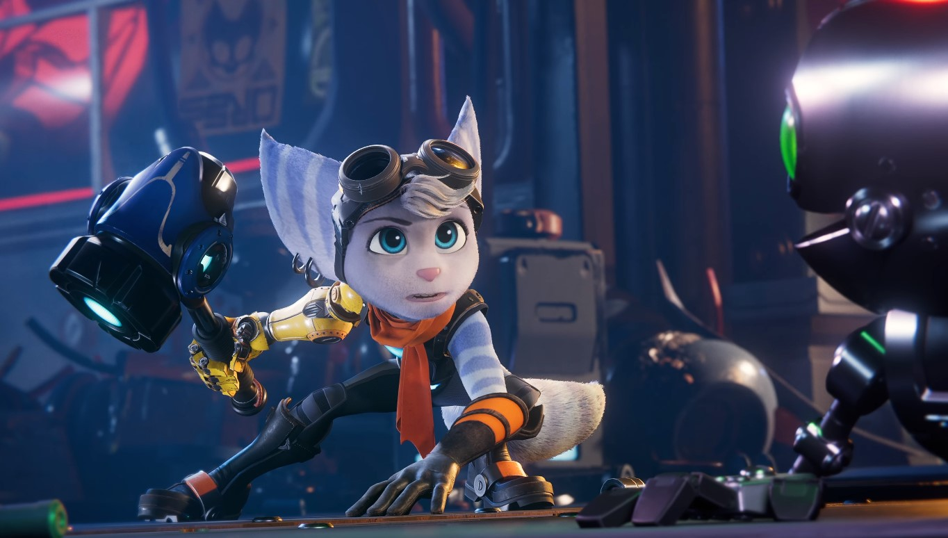 Rivet is an adventurous Lombax who has a lot in common with Ratchet.