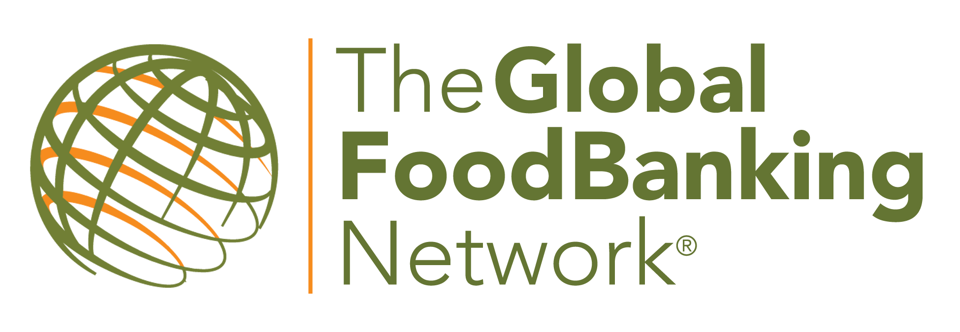 The logo for the Global Foodbanking Network, which reads Global Foodbanking Network
