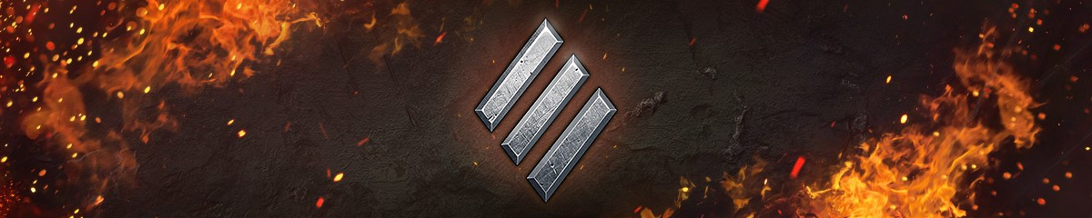 Three diagonal dashed lines forming a diamond shape symbol representing Heavy Tanks in World of Tank