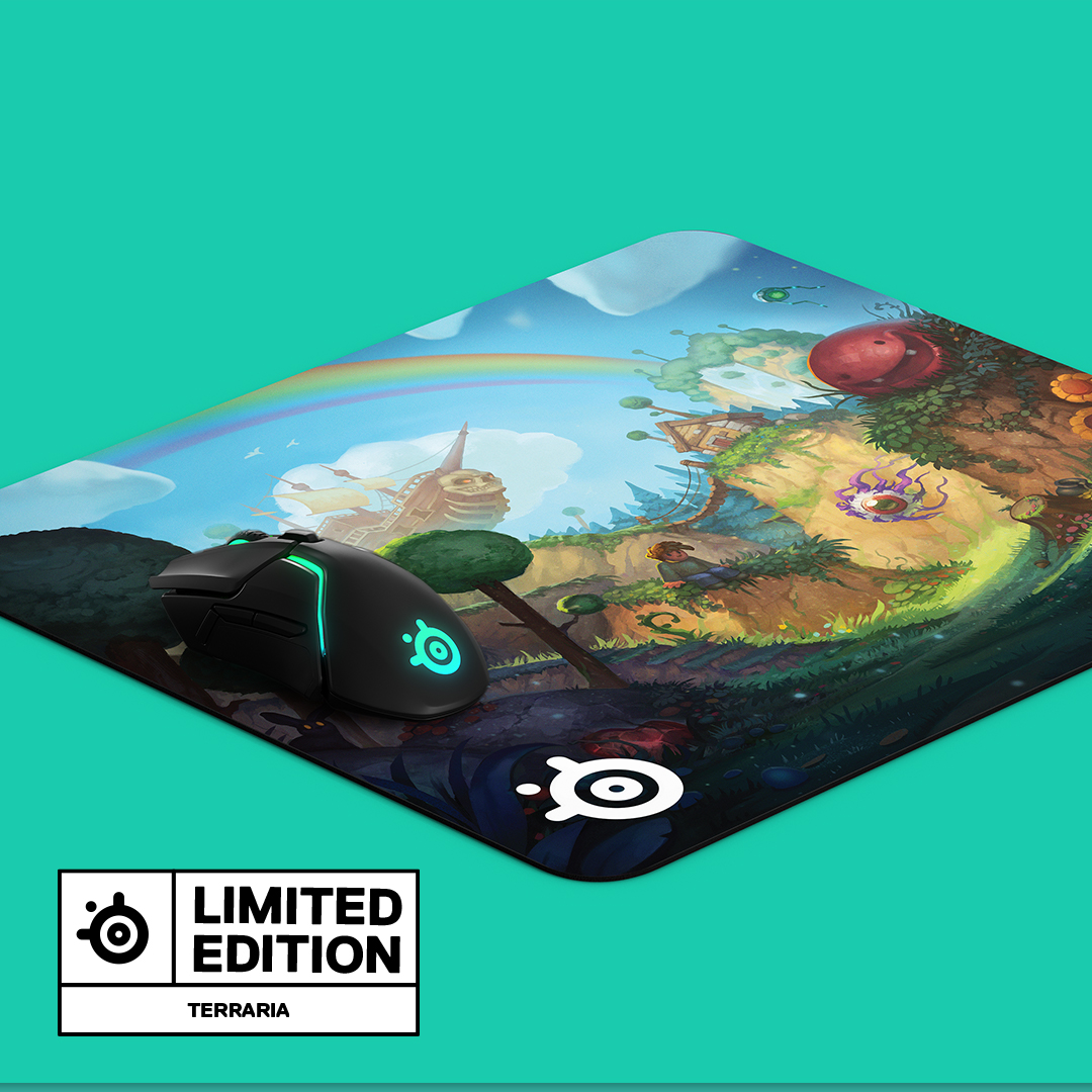A look at the QcK Large Terraria Edition mousepad.