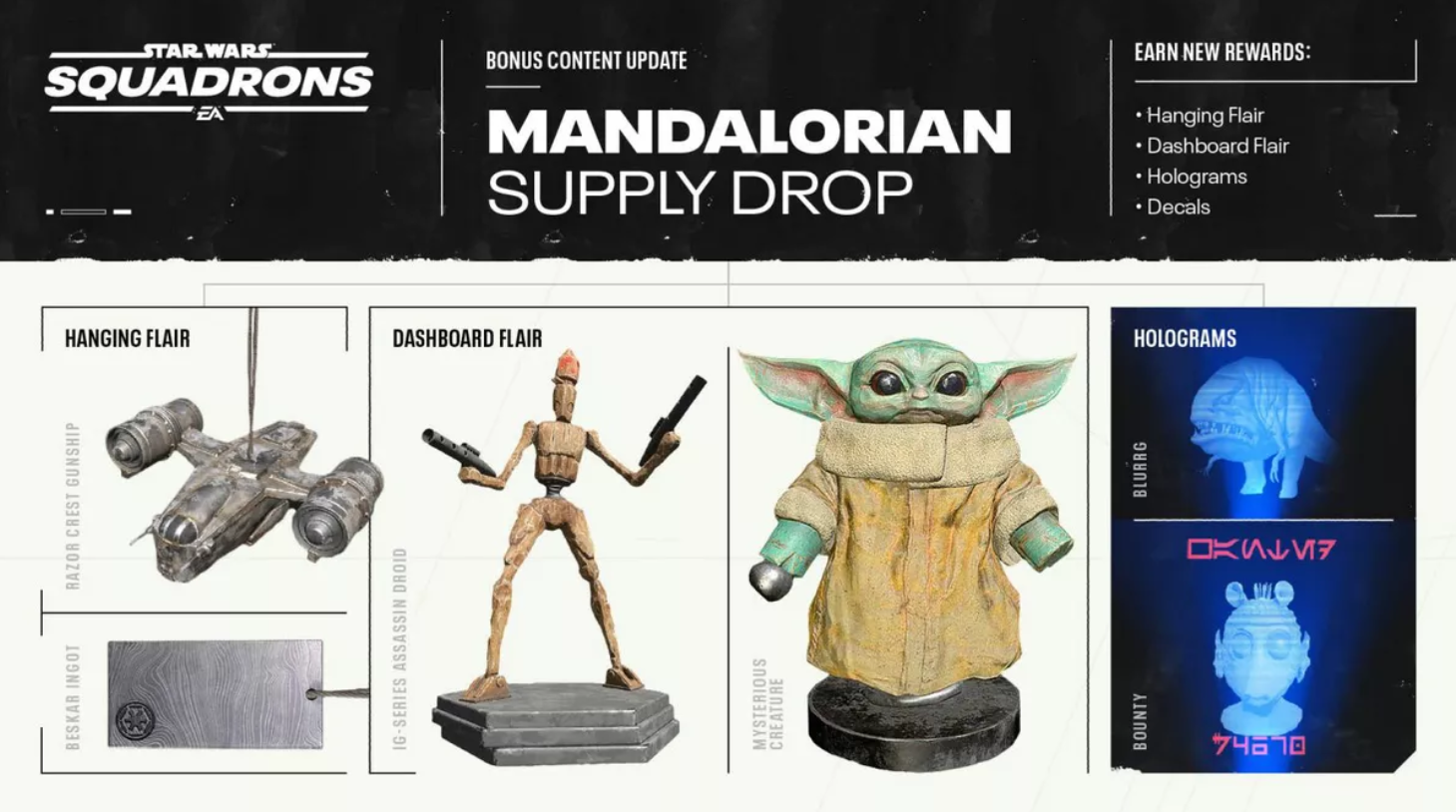 A look at the Mandalorian Supply Drop you need to download.