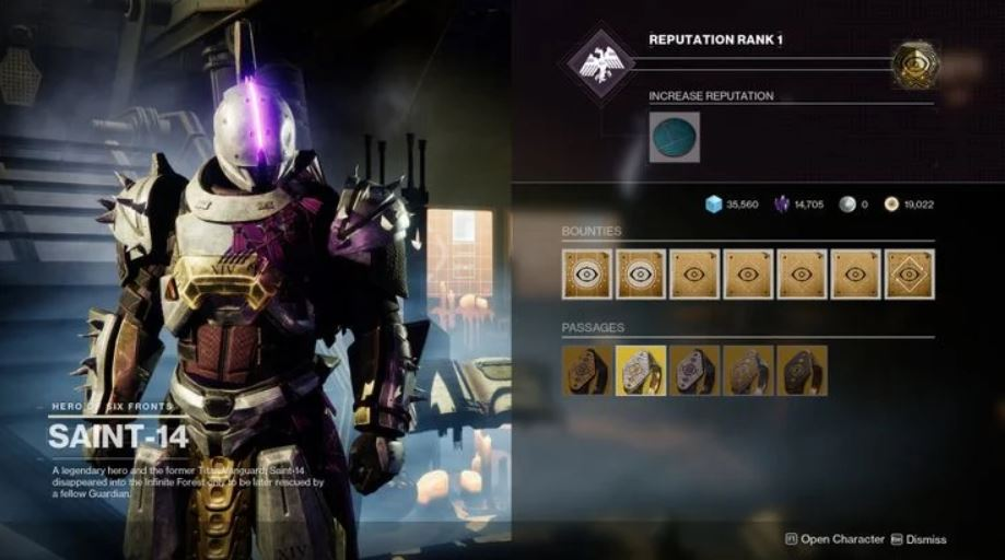 Saint-14 has the Igneous Hammer up for sale.