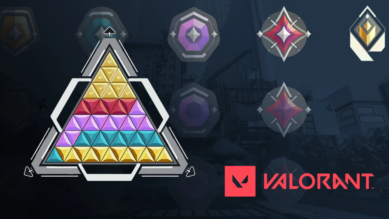 Valorant rank pyramid