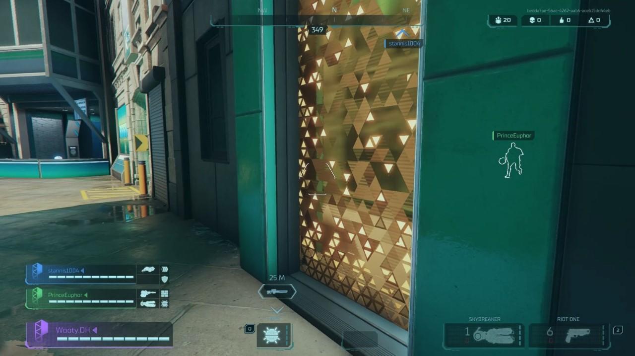 Hyper Scape breakable doors