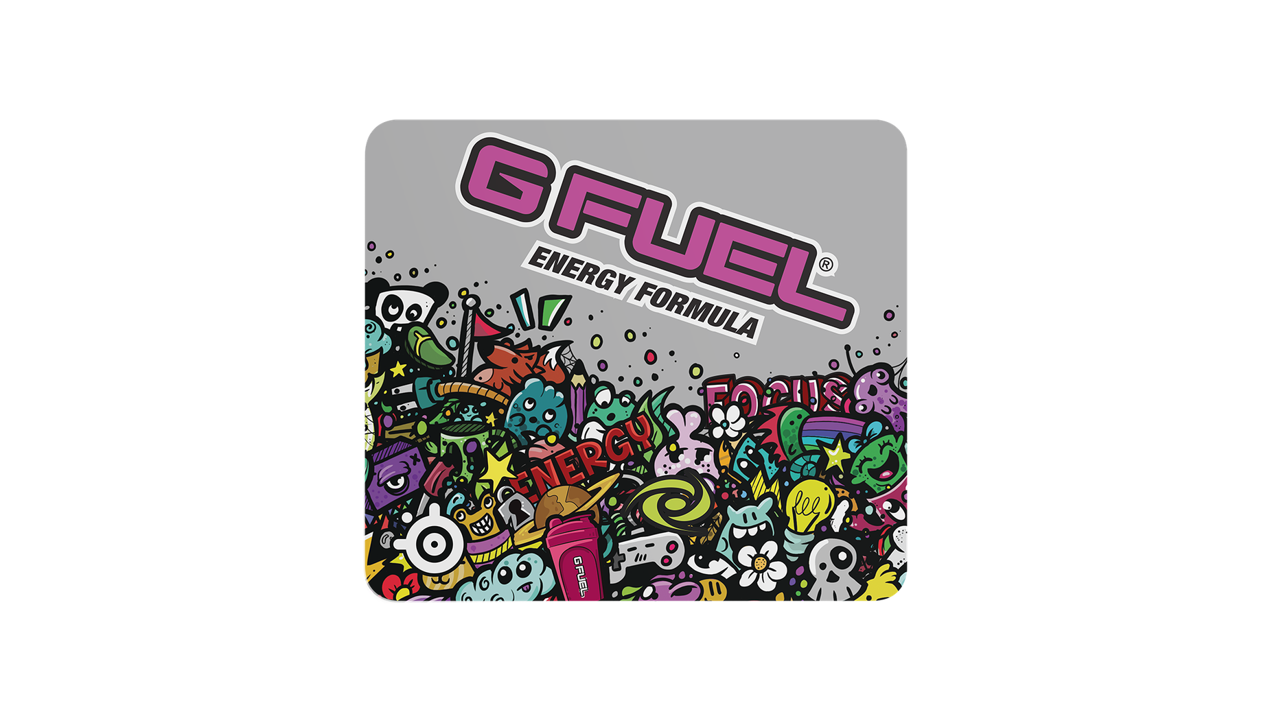 SteelSeries QcK GFUEL edition mousepad