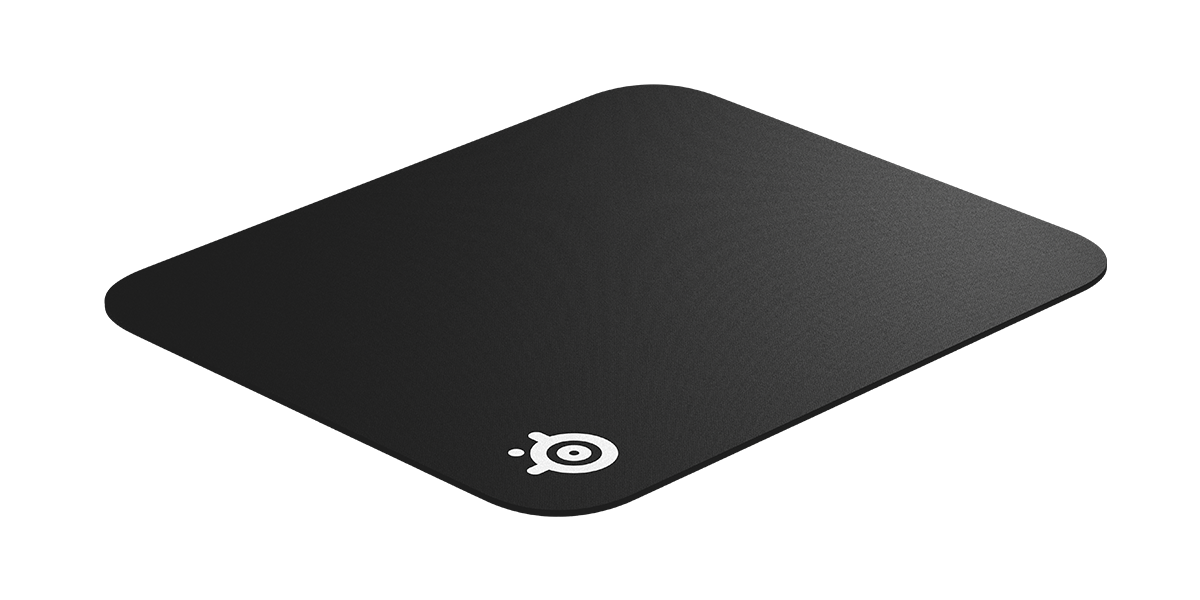 SteelSeries QcK black mousepad with sniper logo