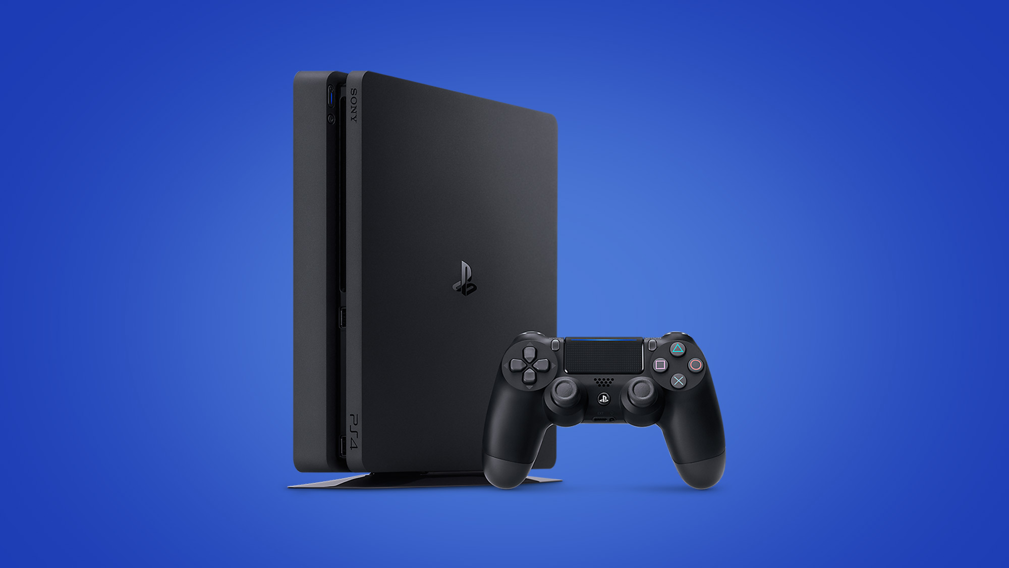 An image of the PlayStation 4 console.