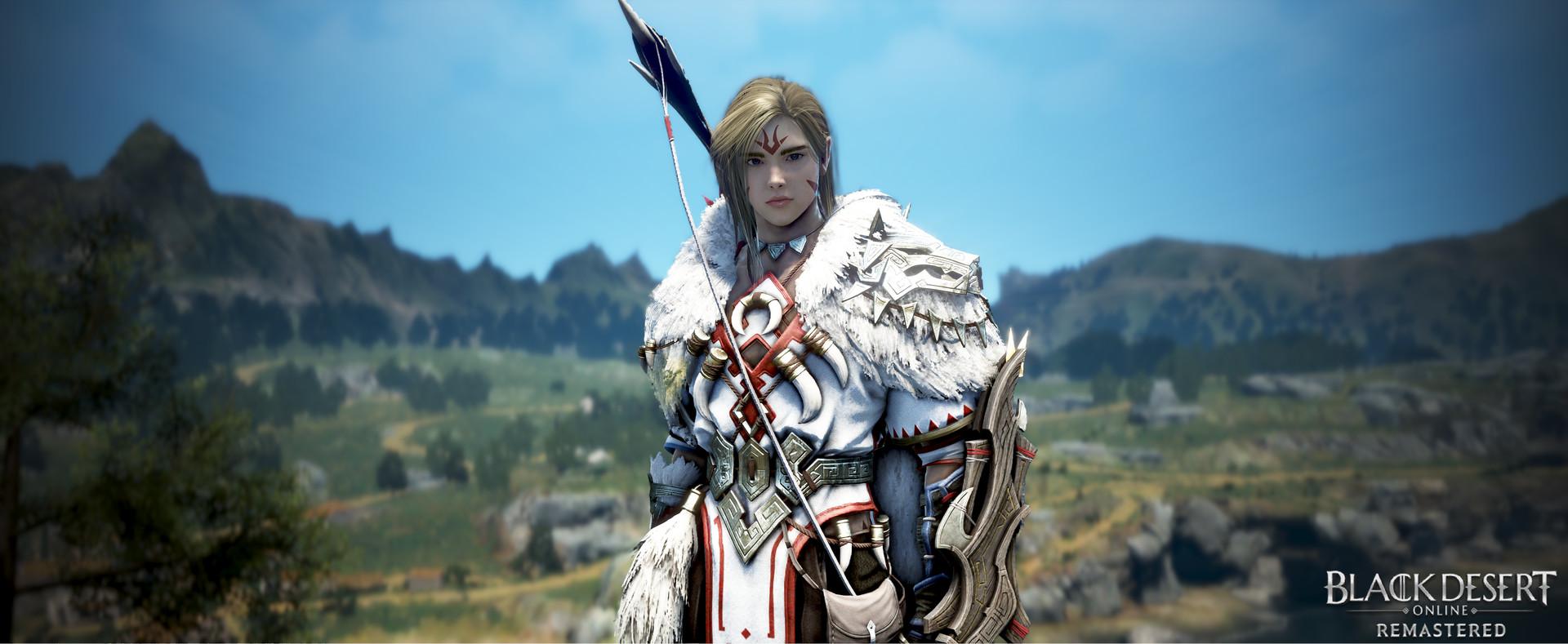 Character from video game, Black Desert Online
