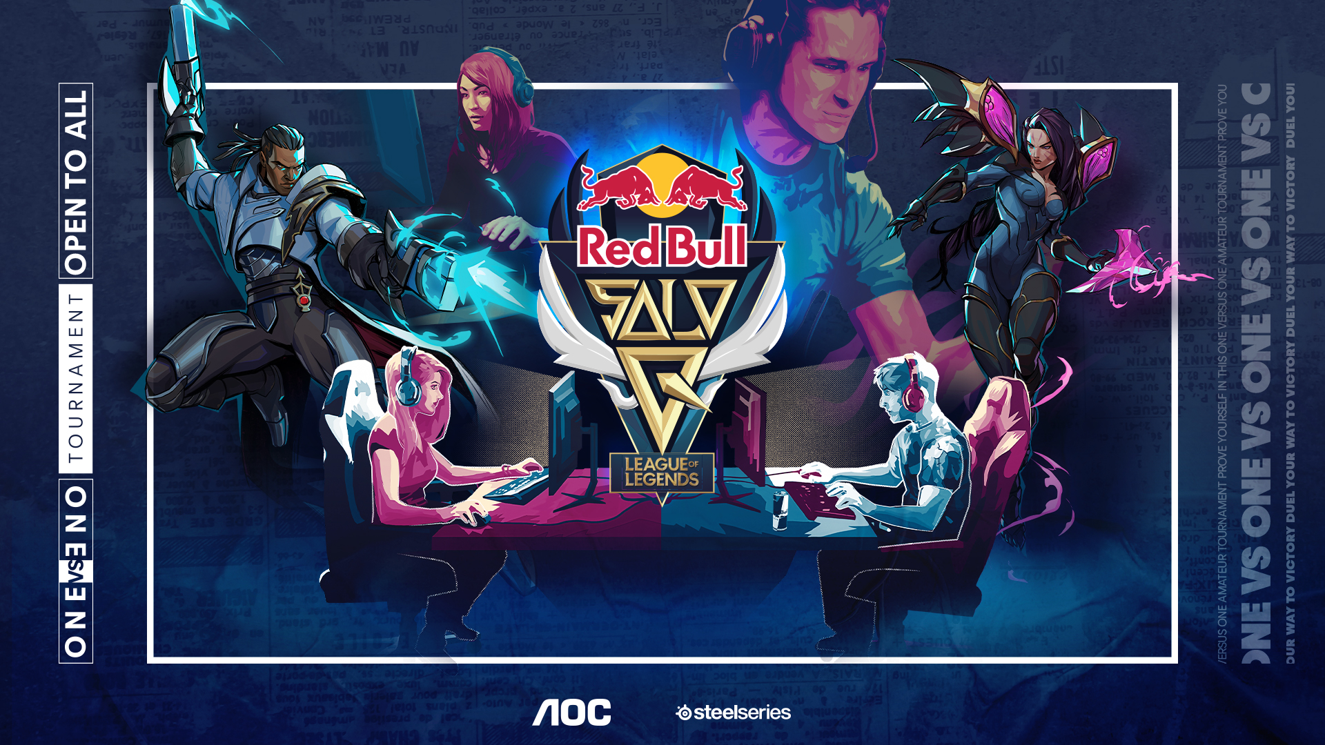 Red Bull Solo Q promotional poster