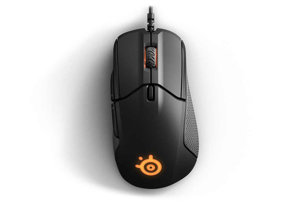 A closer view of the Rival 310 and its split triggers.