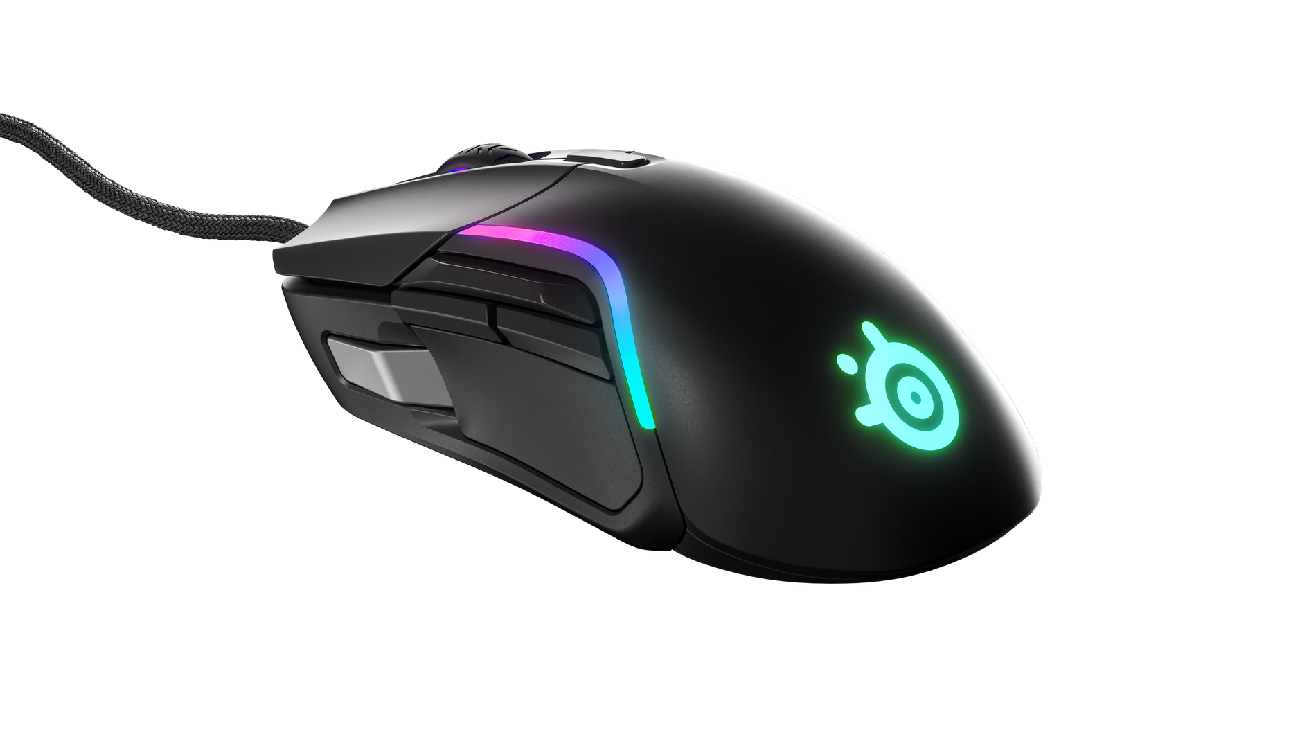 A look at the Rival 5 as well as its versatile side buttons.