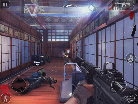 Modern Combat 5 Blackout on Android