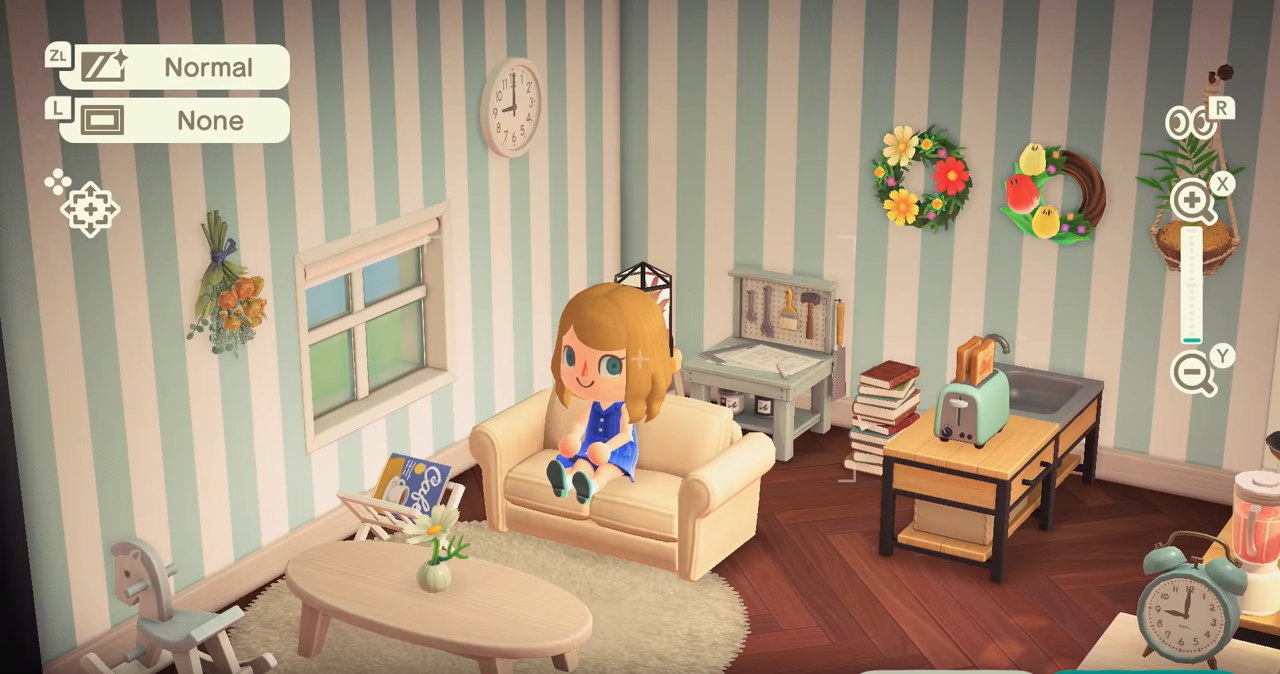 New Leaf Living Room Animal Crossing - RUNYAM on Living Room Animal Crossing New Horizons  id=84839