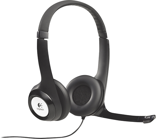 A non-gaming Logitech headset that can be used for a variety of purposes.