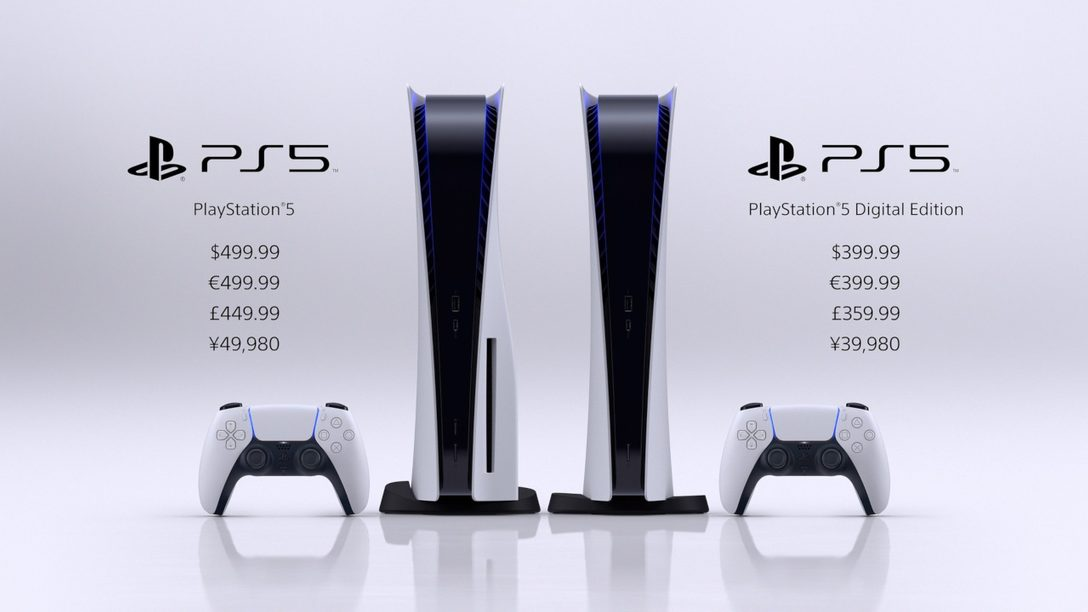 The two versions of PlayStation 5 side by side with price and comparisons.