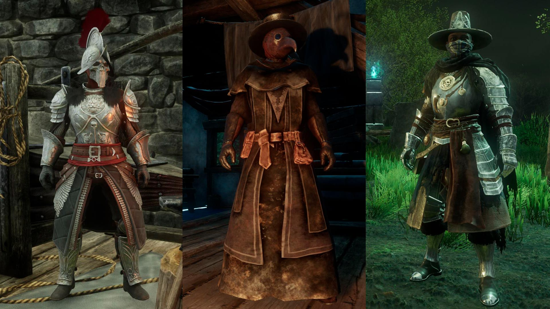 A look at the game's three different factions.