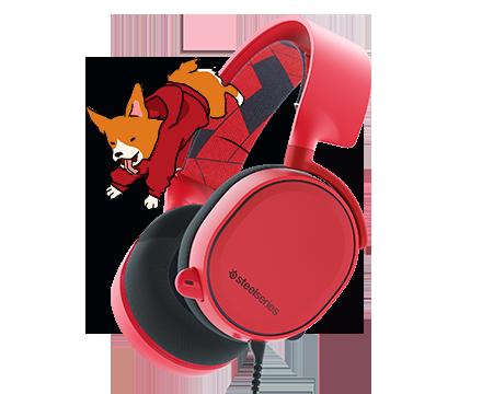 Arctis 3 red