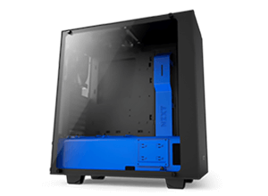 NZXT S340 Elite Blue Case