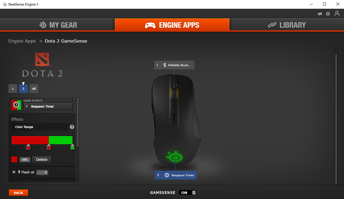 Rival 300 in SteelSeries Engine Software